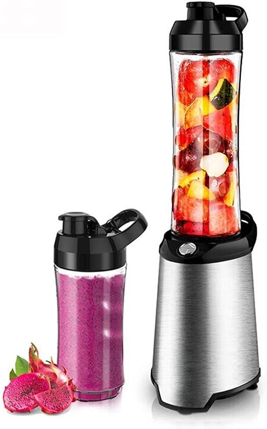 JBP Max Exprimidor Exprimidor Licuadoras Zumos De Frutas Enteras Y Verduras Licuadora Inicio Automático De Frutas Y Verduras Multi-Función Portátil De Jugos Fritos Máquina De Frutas Mini-74: Amazon.es