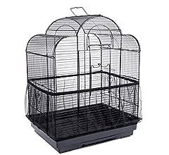 Funda Jaula de pájaros, Cubierta de Malla de ventilación Suave ...