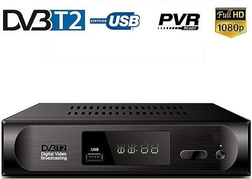 TDT HD Set Top Box para DVB T2 sintonizador de TV DVB-T Sintonizador Receptor WiFi DVBT2 DVBT2 Vga Digital TV Box + USB WiFi de la Ayuda AC3 PVR EPG: Amazon.es: Deportes