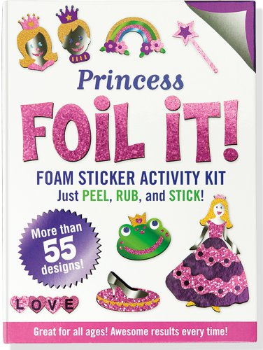 (Princess Foil It! (Foam Sticker Activity Kit))