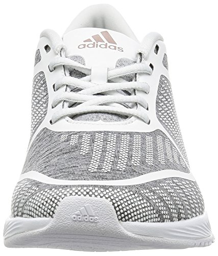 Adidas Athletics B W, Zapatillas para Mujer, Gris (Brgrcl/Grmeva/Ftwbla), 38 EU