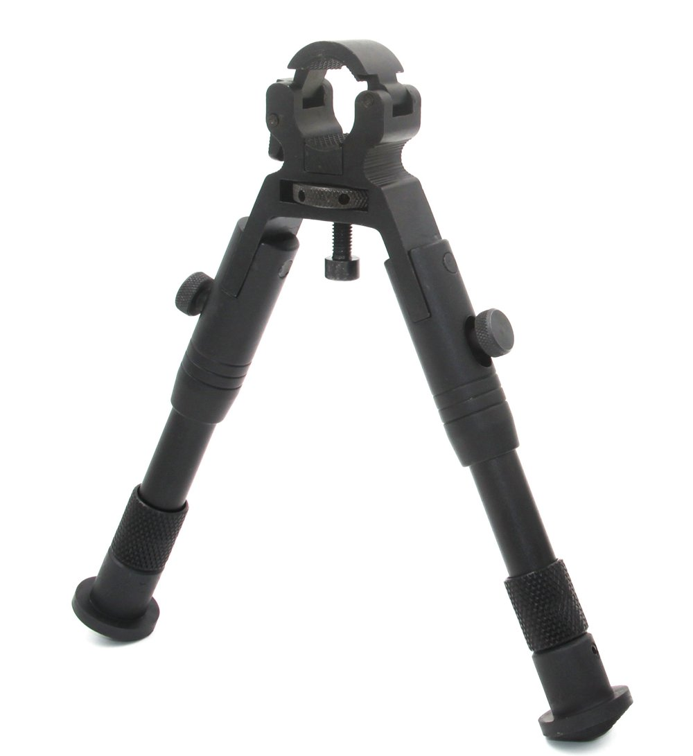 JINSE Tactical Bipod Dragon Claw Clamp-on Folding Rubber Feet Height 6.5-7.5 by JINSE