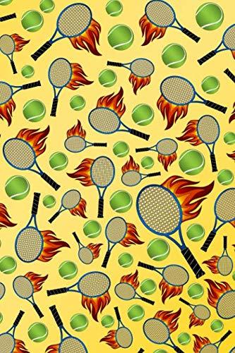 Flaming Tennis Ball - 6