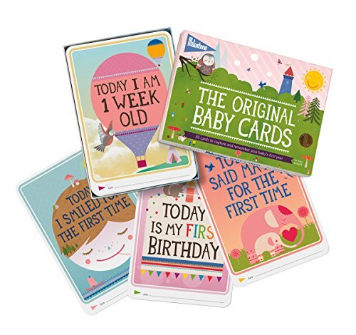 The Original Baby Cards by Milestone – Set of 30 Photo Cards to Capture your Baby's 1st Year by MILESTONE Cards