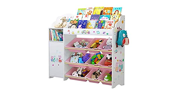 Infantil Librerías Estantería de Almacenamiento para Juguetes para ...