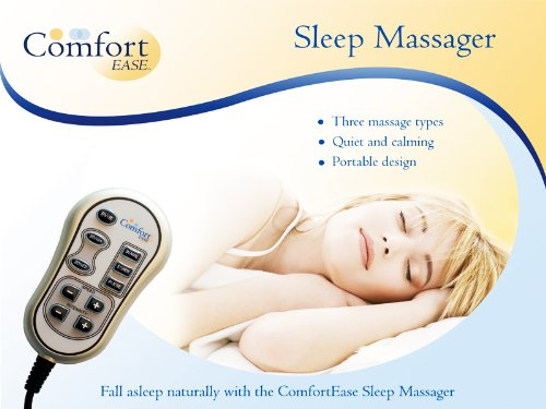 COMFORT EASE SLEEP MASSAGER - PORTABLE DESIGN WITH 3 MASSAGE TYPES