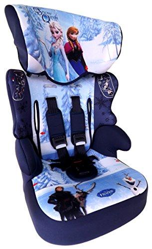 FROZEN Disney Eiskönigin Anna & Elsa Beline SP-SUBLI Kindersitz KINDER AUTOSITZ BABY SITZ GRUPPE 1/2/3 9-36kg+GRATIS