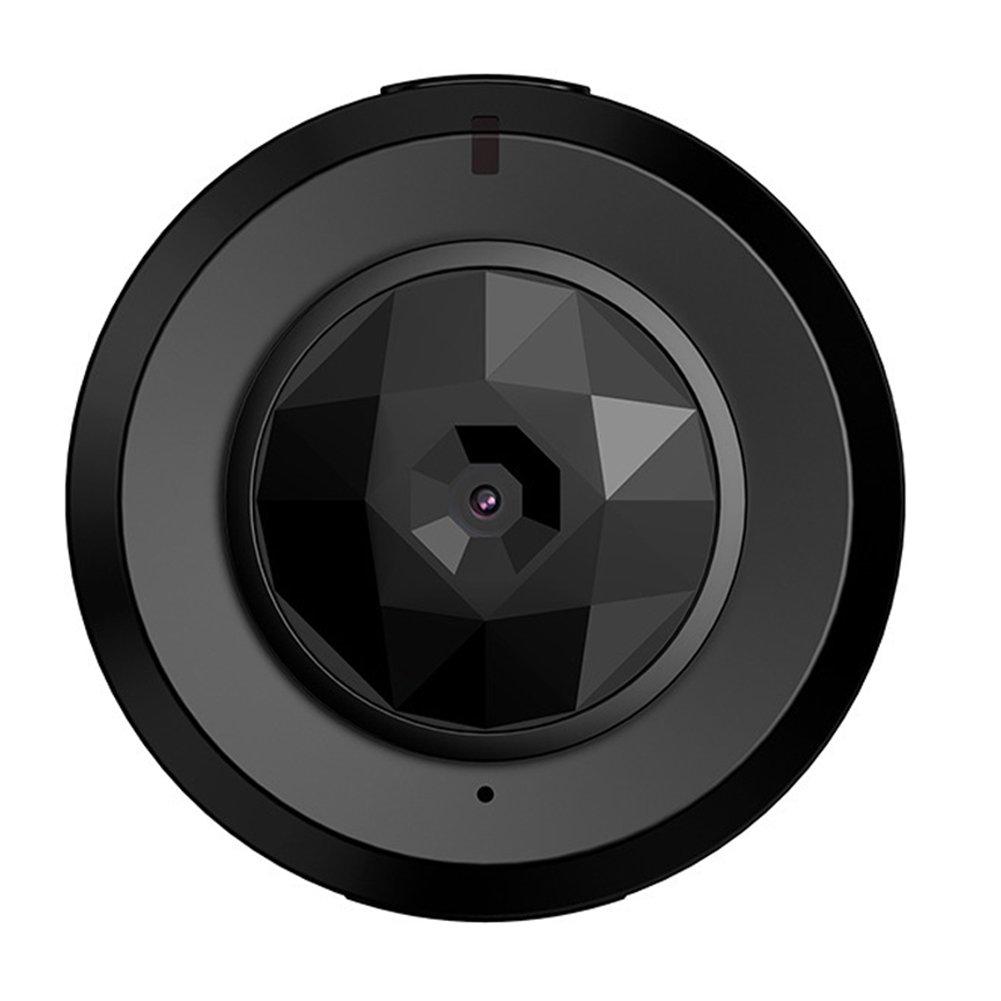 Mini Cámara Espía Oculta Inalámbrica Cámaras De Seguridad Espía Inalambricas Caseras Interiores De HD 1080P De La Cámara para iPhone/Android Phone/iPad/PC: ...