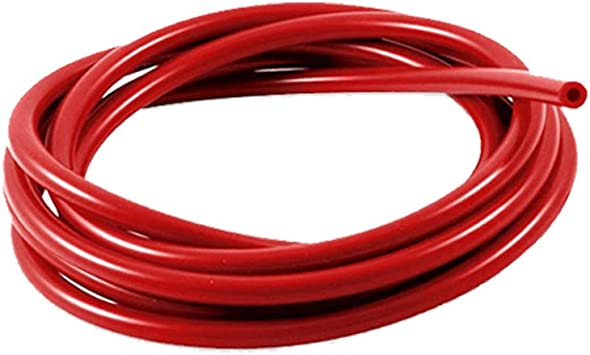 4mm ID Red 25 Metre Length Silicone Vacuum Hose AutoSiliconeHoses