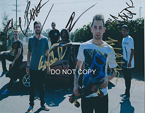 ISSUES & Tyler Carter reprint signed autographed band photo #2 ()