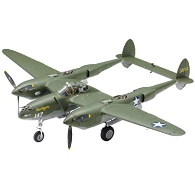 Tamiya TAM61120 1: 48 Lockheed P-38F P-38G Lightning [Model Building Kit]: Toys & Games