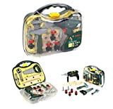 bosch tool box set - Theo Klein Bosch Cordless Drill Case Toolbox Playset Set with Accessories