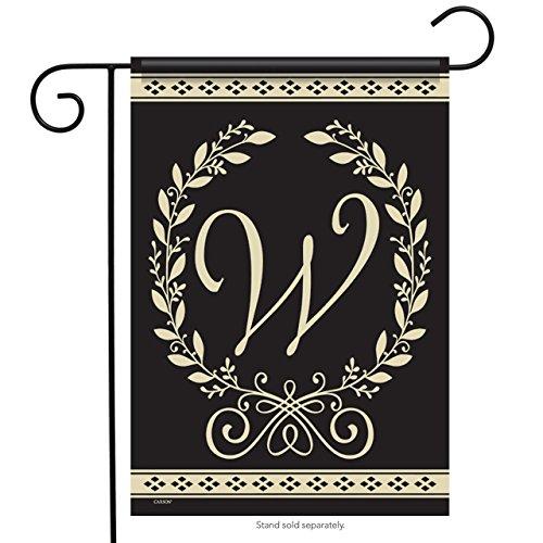 Classic Monogram W - 12.5