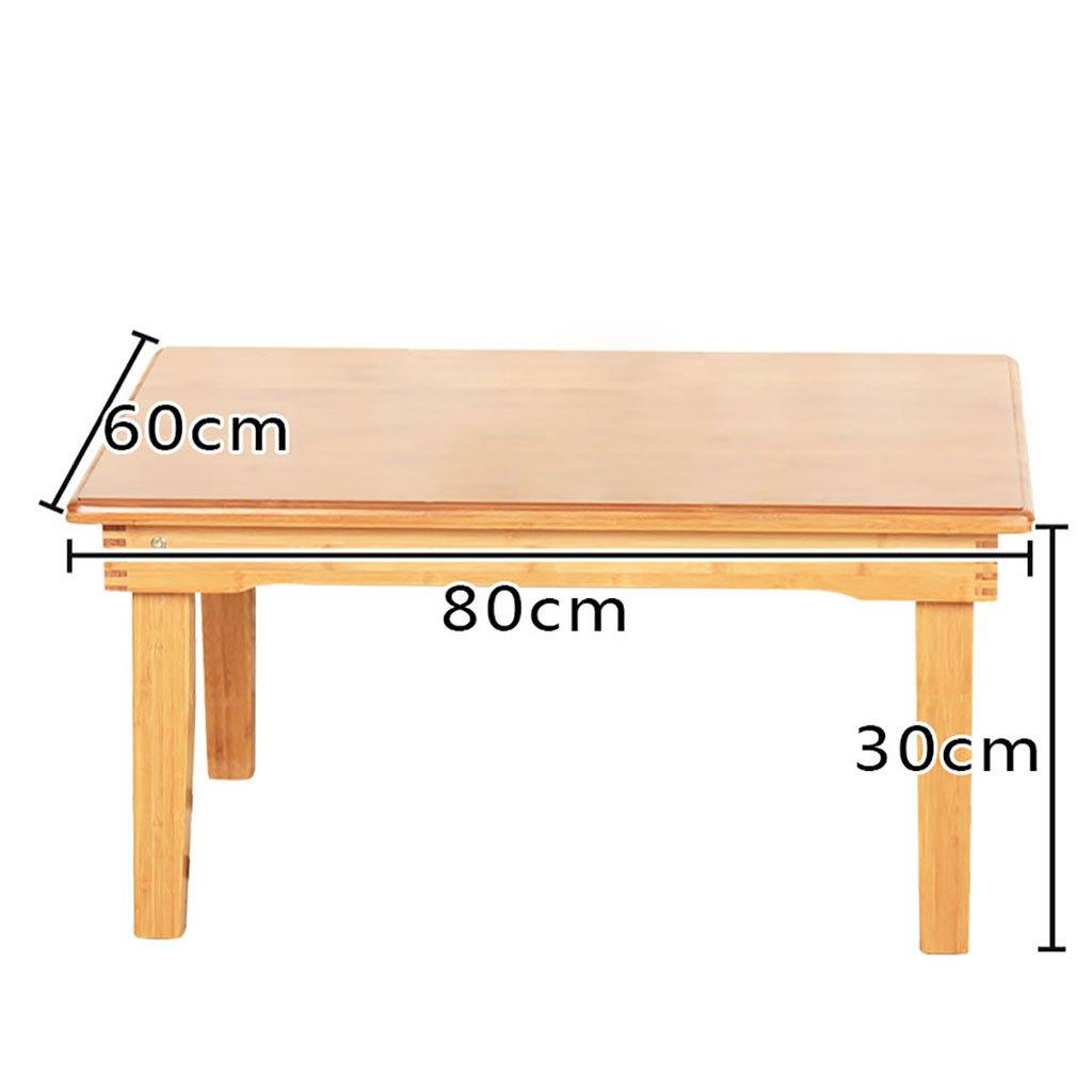 Table en bois ordinateur bureau lit plier paresseux Portable ordinateur portable petit bureau lit ( taille : 60*80*30cm