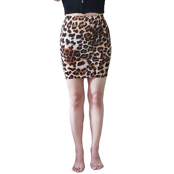 Sylar Minifalda Mujer Cintura Alta Faldas Cortas Mujer con ...