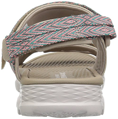 Go Walk Sandals Skechers Runyon Outdoors Taupe 14644 zw57xfq4