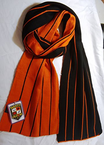 Team Colors Scarf University, College, and Football Team Colors! (Black and (Team Colours)