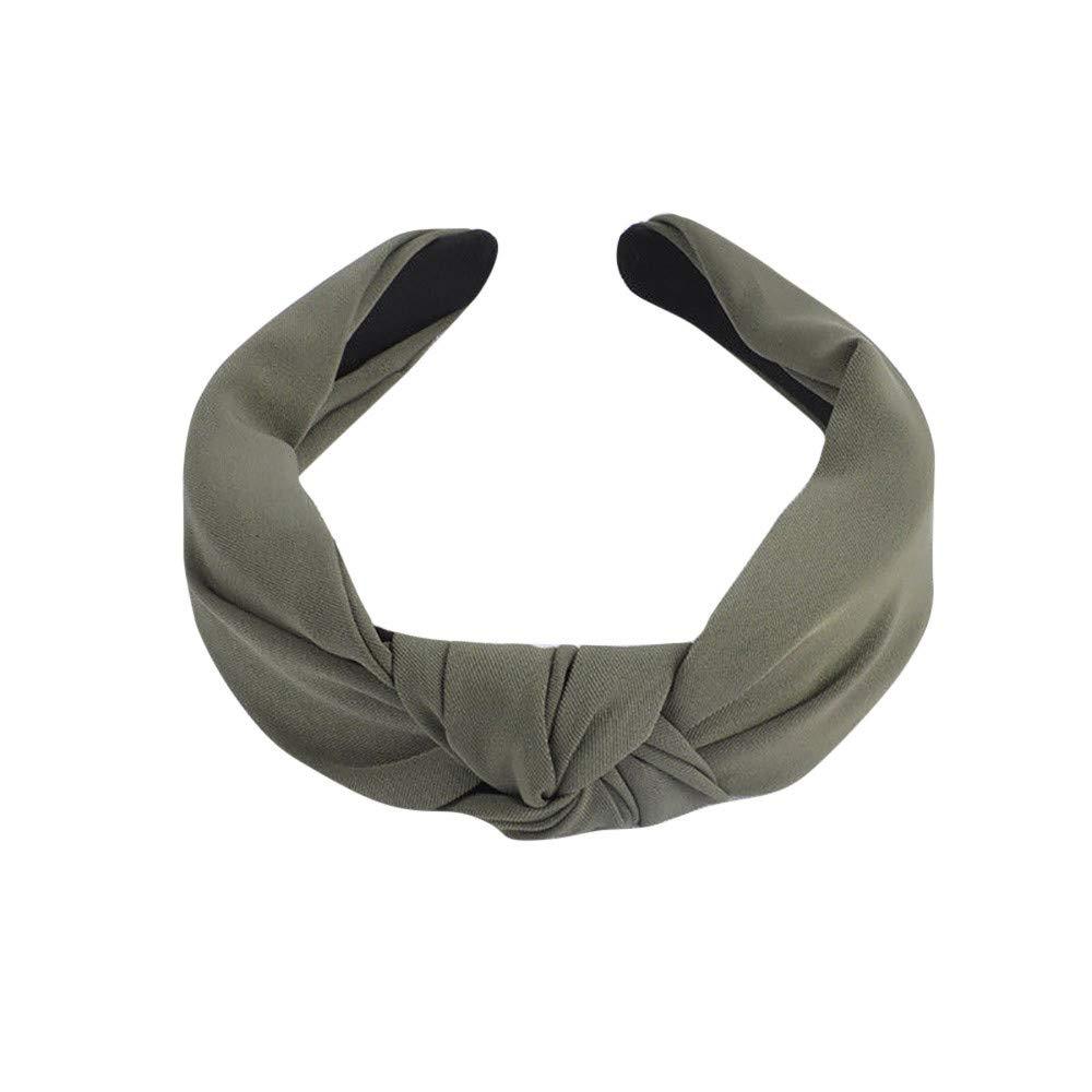 Mujer Diademas Cebbay Mujeres el/ástico Turbante Head Wrap para la Cabeza Vendas para el Cabello Cintas para el Pelo Arcos Headwraps Lazos de Bandas de Pelo Accesorios