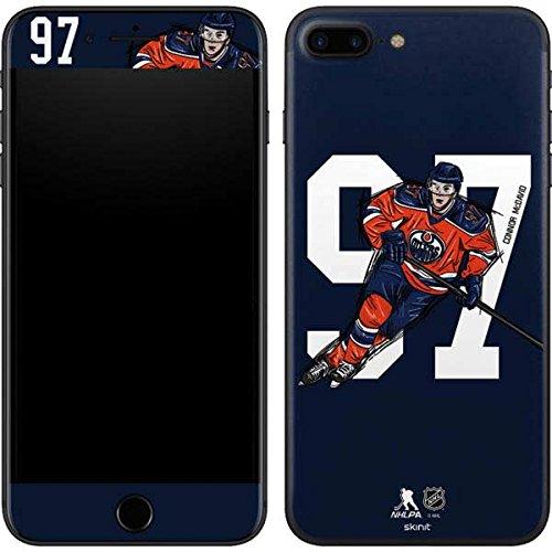 Nhl Edmonton Oilers Iphone - Edmonton Oilers iPhone 8 Plus Skin - Connor McDavid #97 Action Sketch | NHL X Skinit Skin
