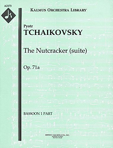 The Nutcracker (suite), Op.71a: Bassoon 1 and 2 parts [A2173]