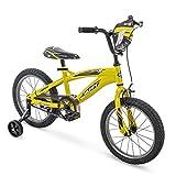 16'' Huffy MotoX Boys Bike, Yellow