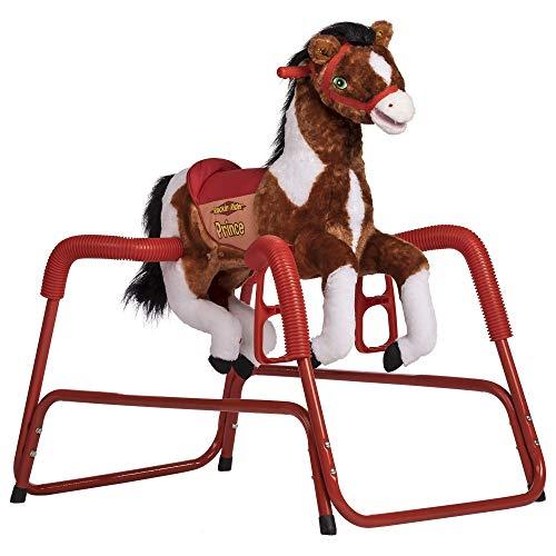 Rockin' Rider 1-80124M Prince Spring Horse Ride On, 39 x 24 x 37.5