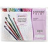 Knitter's Pride Dreamz Single Ended Crochet Hook Set, E/3.5mm to L/8mm