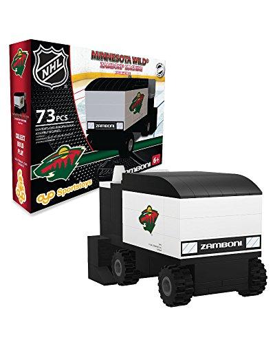 OYO Sports NHL Buildable Zamboni Minnesota Wild