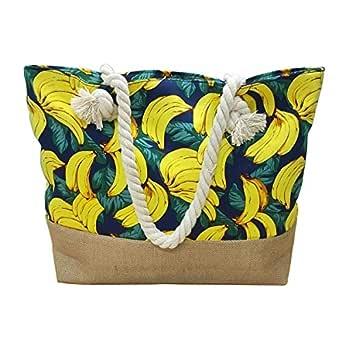MeliMe X-Large Travel Shoulder Beach Tote Bag (Beach Bag 1)