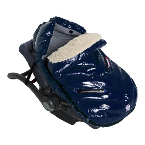 7AM Enfant Polar Igloo Baby Bunting Bag Adaptable for Strollers, Oxford Blue, Medium by 7AM Enfant (Image #5)