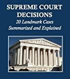 "The text of this Kindle edition, equivalent in length to a physical book of approximately 32 pages, originally appeared in the U.S. Department of State publication ""Basic Readings in U.S. Democracy."" Learn about eighteen landmark Supreme Court cases,..."