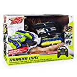 Thunder Trax RC Vehicle, 2.4 GHZ Transforms From Tank to Boat With The Push Of Button