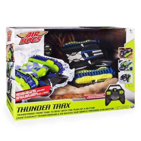 Thunder Trax Rc Vehicle  2 4 Ghz Transforms From Tank To Boat With The Push Of Button