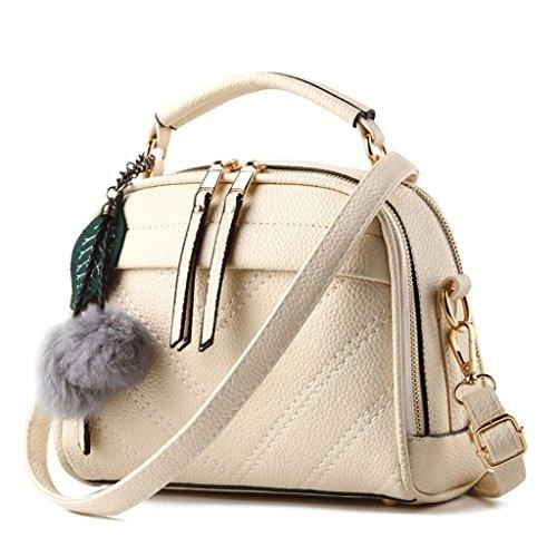 PU Colore capelli con pelle in Borsa a Handbag A 8 tracolla tracolla per a tracolla sfera a qxOp1Z