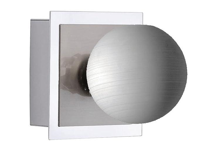 Decorativo led lampada da parete a 1 luci con interruttore colore