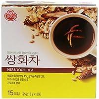 Korean Tea Powder - 13 g X 15 Bags. (Herb Tonic)
