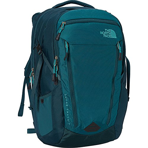 The North Face Womens Surge Transit Laptop Backpack (Harbor Blue/Atlantic Deep Atlantic Backpack