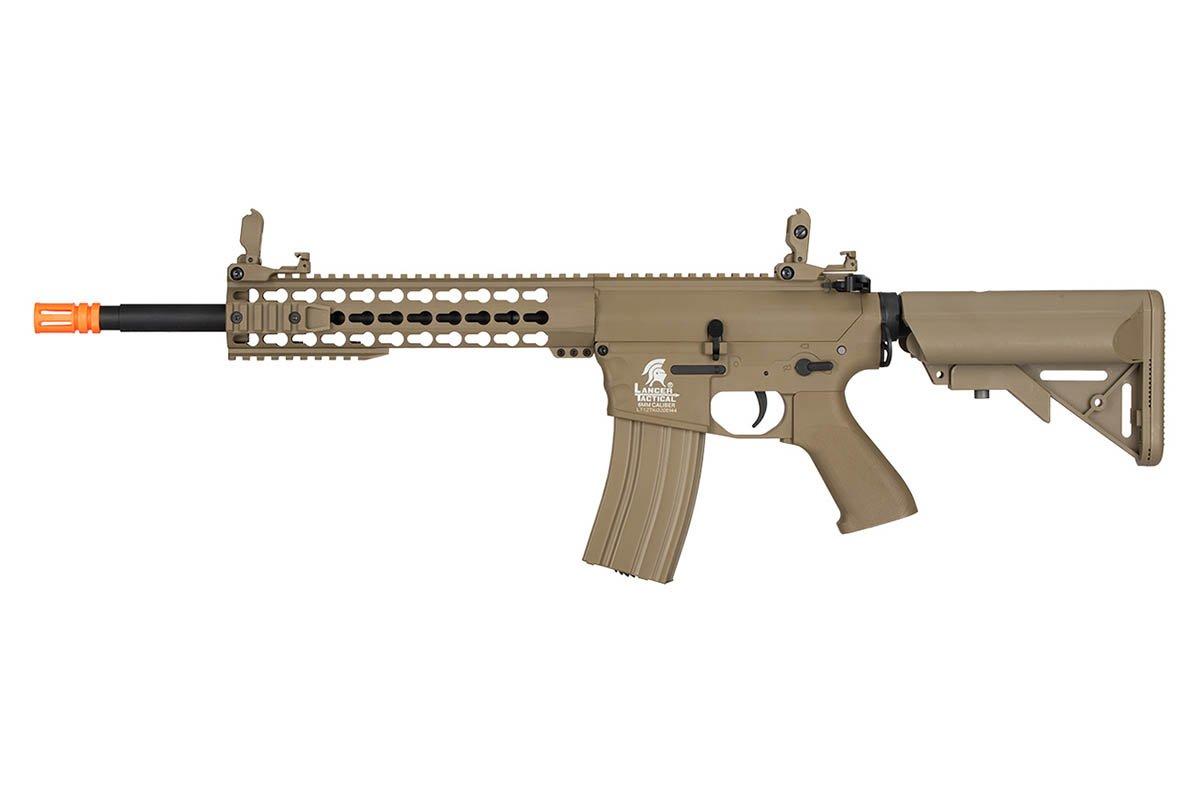 Lancer Tactical LT-12TK-G2 Gen 2 M4 carabina AEG Airsoft Rifle (bronceado)