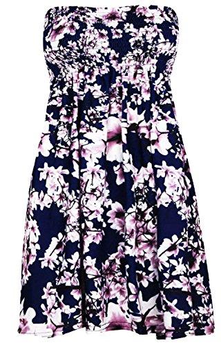 Fashion Star Damen Kleid Rose Navy Flowers lsKxYSd - mci ...