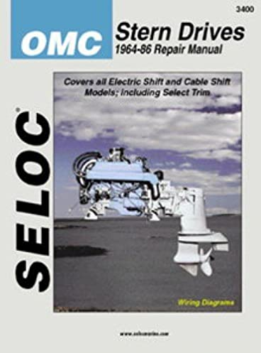 sl3400 seloc omc stern drive boat engine repair manual 1964 1986 rh amazon com 1972 OMC Outdrive Diagram OMC Outdrive Drawing