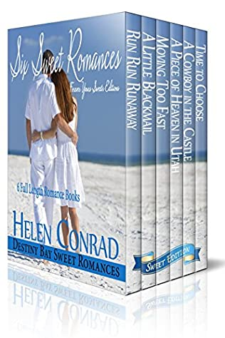 book cover of Six Sweet Romances