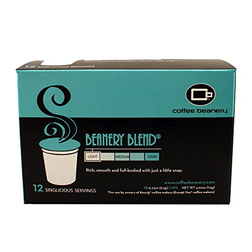 Beanery Blend-Singlicious Servings Single-cup Coffee Pack Sampler for Keurig K-cup Brewers
