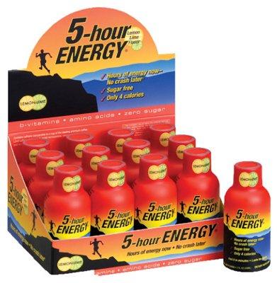 5 Hour Energy Living Essentials Lemon Lime Singles, 2 Ounce ()