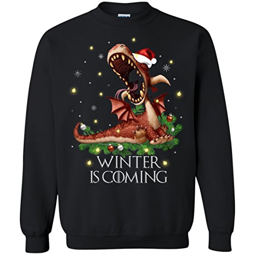 Dragon Winter Is Coming Game Of Thrones Ugly Christmas Sweater