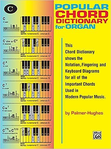 Popular Organ Chord Dictionary