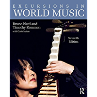 Excursions in World Music, Seventh Edition: eBook & mp3 Value Pack book cover