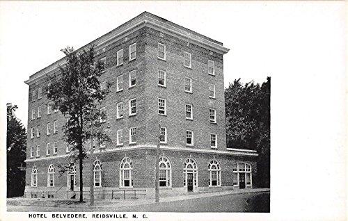 Reidsville North Carolina Hotel Belvedere Antique Postcard J5677