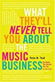 What They'll Never Tell You about the Music Business, Peter M. Thall, 0823007081