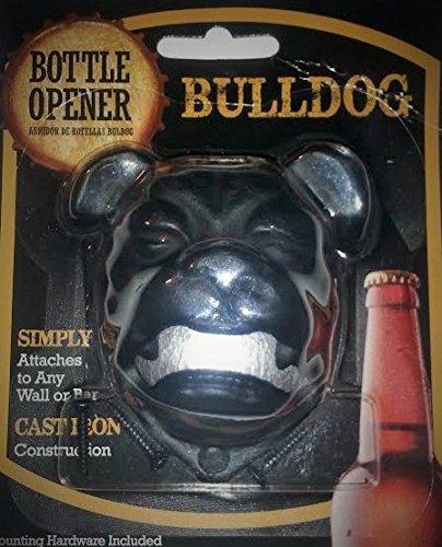Bulldog Bottle Opener - Wall Mounted