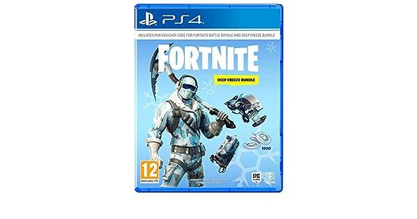Amazon.com: Fortnite: Deep Freeze Bundle (PS4): Video Games